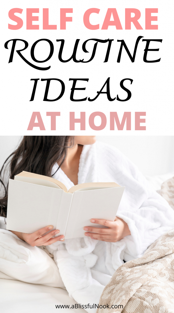 10 aesthetic self care routine ideas to practice everyday at home. #selfcare #inspirational #motivation